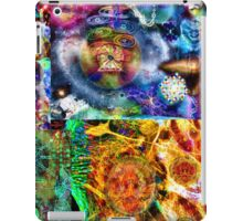 Where Are You Are Here - The Answer To The Universe. Visual Guide for Humans No.33 DMT ART iPad Case/Skin