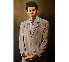 Kramer Seinfeld painting Photographic Print