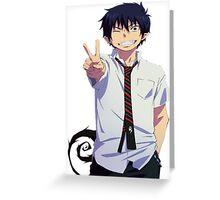 Rin okumura-Peace Greeting Card
