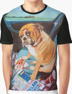Hot Dog In The Car Graphic T-Shirt