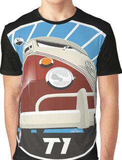 VW Type 2 Transporter T1 red Graphic T-Shirt