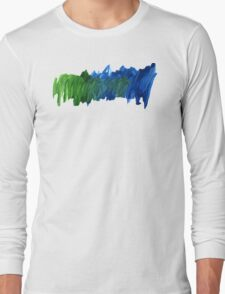 Abstract Watercolor stroke iPhone cover Long Sleeve T-Shirt