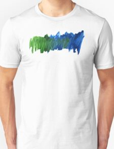 Abstract Watercolor stroke iPhone cover Unisex T-Shirt