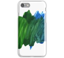 Abstract Watercolor stroke iPhone cover iPhone Case/Skin