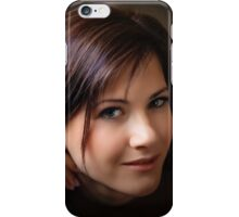attractive woman  iPhone Case/Skin