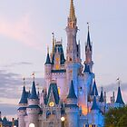 Cinderella's Castle at Dusk (2) by Mark Fendrick