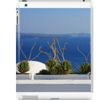 Symmetry in Santorini  iPad Case/Skin