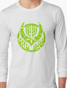 Zangetsu Logo - Kamen Rider Long Sleeve T-Shirt