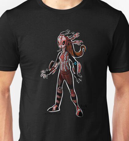 Crab-Head Creature Unisex T-Shirt