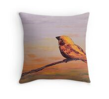 Little Bird #1 Throw Pillow