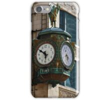 Chicago Clock iPhone Case/Skin