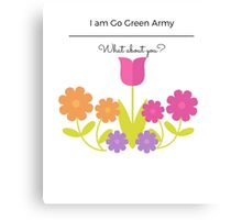 Colourful Flower Canvas Print