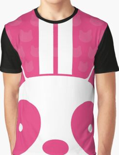 Pink Panda Graphic T-Shirt