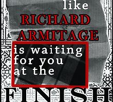 Run like Richard Armitage is waiting for you by Charenne