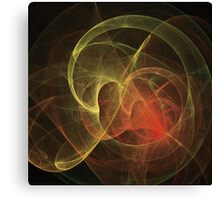 Abstract Art Magic Flame Canvas Print