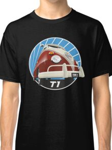 VW Type 2 Transporter T1 red Classic T-Shirt