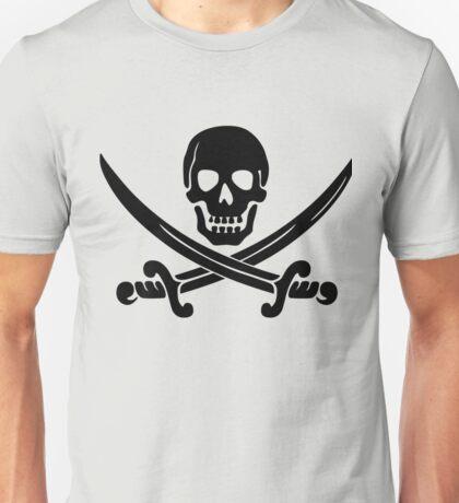 Swords Skull Unisex T-Shirt