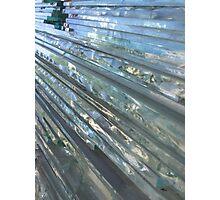 glass work Photographic Print