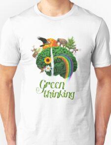 Green Thinking - love of Nature | Pensamiento en verde - amor por la Naturaleza Unisex T-Shirt