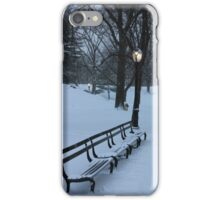 Park Bench, NYC iPhone Case/Skin