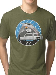 VW Type 2 Transporter T1 grey Tri-blend T-Shirt
