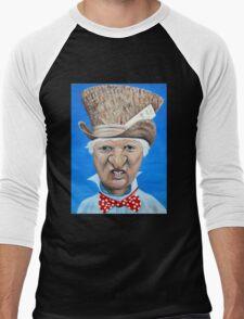 """Bob Katter as the """"Mad Katter"""" Men's Baseball ¾ T-Shirt"""