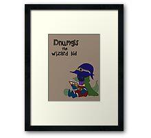 Dnumgis the Wizard Kid Framed Print