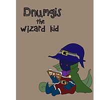 Dnumgis the Wizard Kid Photographic Print