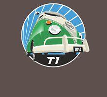VW Type 2 Transporter T1 bright green Unisex T-Shirt