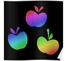 MLP - Cutie Mark Rainbow Special - Applejack Poster
