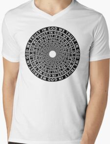 In God We Trust Mens V-Neck T-Shirt