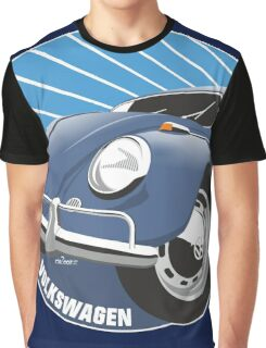 Sixties VW Beetle blue Graphic T-Shirt