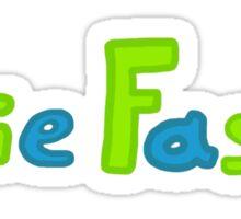 Obie Faste Logo Sticker