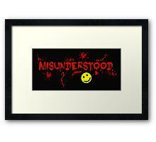Misunderstood! Framed Print