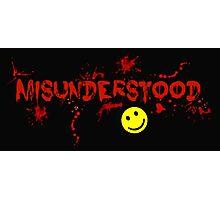 Misunderstood! Photographic Print