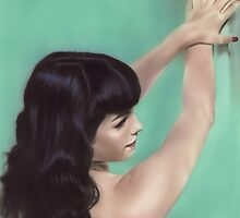 Bettie Page by art-by-david