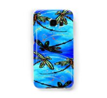 "Dragonfly Flit ""Electric Blue"" Samsung Galaxy Case/Skin"