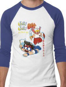 Chiki Chiki Boys Are GO! Men's Baseball ¾ T-Shirt