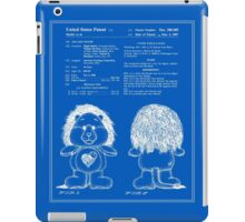 Brave Heart Lion Patent - Blueprint iPad Case/Skin
