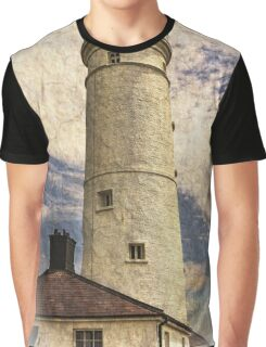 Nash Point Lighthouse East Tower Graphic T-Shirt