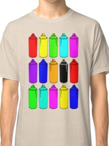 Spray Cans Classic T-Shirt