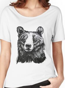 Ink Bear Women's Relaxed Fit T-Shirt