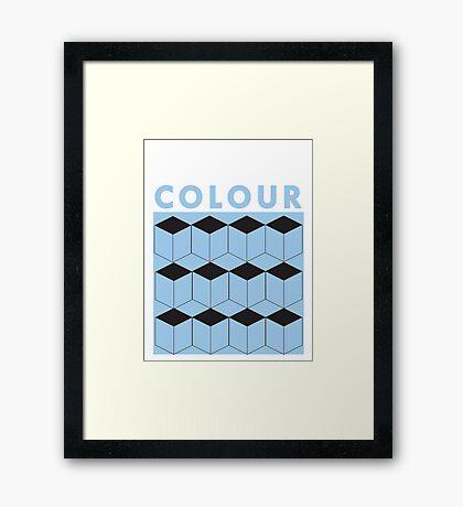 colour Framed Print