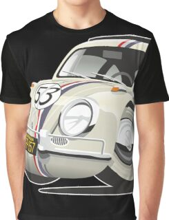 Herbie the Love Bug caricature Graphic T-Shirt