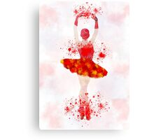 Sparks on the dance floor Canvas Print