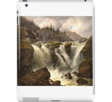 Albert Tides , The Traunfall in Upper Austria iPad Case/Skin