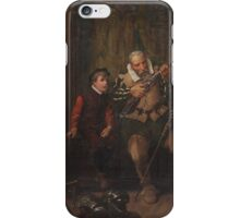 Alfred Dixon (fl. )  In the armoury iPhone Case/Skin
