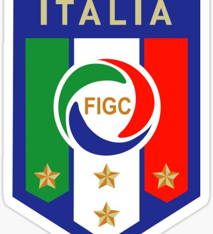 Italia Team Sticker