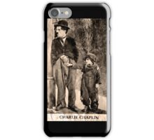 Charlie Chaplin and The Kid iPhone Case/Skin