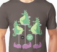 Dragons Ride Rhinos Unisex T-Shirt